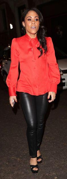Alex Scott, Gorgeous Women, Leather Pants, Female, Lady, Bbc, Outfits, Sports, Fashion