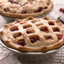 Apple Pie with Cranberries: King Arthur Flour