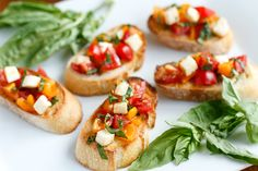 Quick and Easy Bruschetta Recipe