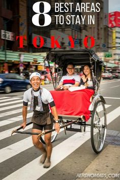 The ultimate guide on where to stay in Tokyo, an overview of all the different areas and what they have to offer