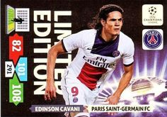 Champions League Adrenalyn XL 2013/2014 Edinson Cavani 13/14 Limited Edition