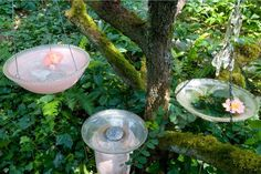 DIY Birdbaths, Hanging Lamps, and More With Handmade Garden Projects (Book Review) : TreeHugger