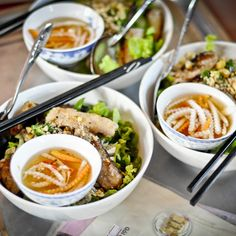 Check out this slideshow Pho Soup  in this list Where to Eat in Ho Chi Minh City