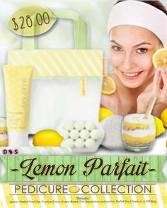 Limited Edition Lemon Parfait Pedicure Collection.  Great Mother's Day gift idea!  Contact me to get yours before they sell out!  www.marykay.com/saflanagan