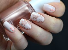 Essie - Fiji, stamped with Essie - Buy Me a Cameo and MoYou London stamping plate Pro Collection 10 (XL)