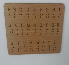 Braille Wall Panel Key for Escape Rooms Have you incorporated Braille in your Escape Room(s) and need a way to show your players how to read it? Look not further than our Braille Wall Panel Key for Escape Rooms. The Braille alphabet is clea Room Escape Games, Escape Room Diy, Escape Room For Kids, Escape Room Puzzles, Escape Puzzle, Braille Alphabet, Alphabet Board, Alphabet Code, Escape The Classroom