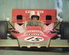 Dave Walker Lotus 56B Zandvoort '71