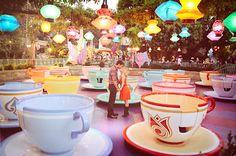 Engagement photos in Disney