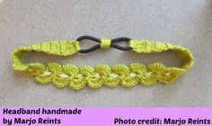 My Hobby Is Crochet: Thread Headband | Free Crochet Pattern with Tutorial | My Hobby is Crochet