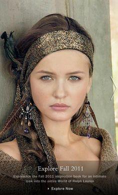 V.G.model management: Kristina Romanova. Ralph Lauren: Blue Label. compaign. New York.