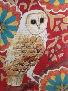 Pier One owl painting