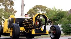 Life size Lego Car... and it's working! (Max speed 30 Kmh)