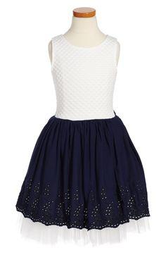 Main Image - Dorissa Tara Fit & Flare Dress (Toddler Girls, Little Girls & Big Girls)