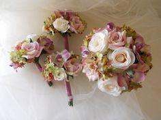 Lavender, Lilac, Pink & White Bouquet