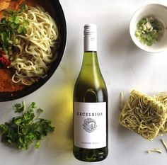 Thai Red Curry paired with Excelsior Viognier South African Wine, Wine Pairings, Wine Recipes, Thai Red Curry, Wines, Management, Yummy Food, Social Media, Delicious Food
