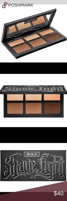 ❤️Kat Von D Shade + Light Contour Palette❤️ A must have palette for contouring and highlighting! The powders are super soft and blendable. Used 4 of the shades only one time, practically brand new. NO TRADES. PRICE IS FIRM. Kat Von D Makeup Bronzer