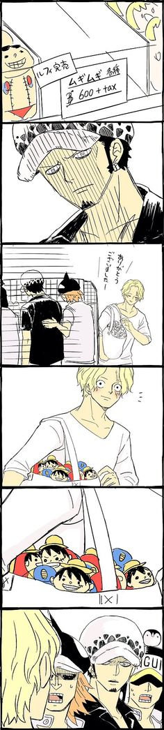 And then Zoro bought every Sanji doll and vice versa