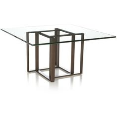 Crate & Barrel Tory Square Coffee Table