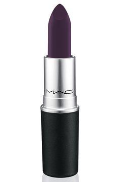 MAC Nasty Gal Collection: 3 Dark and Vampy Matte lipsticks!!!!! GUNNER deep purple (matte)