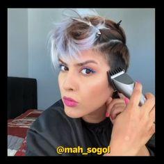Short Sassy Hair, Super Short Hair, Short Hair Cuts For Women, Shaved Pixie, Shaved Hair, Short Hair Shaved Sides, Undercut Hairstyles Women, Short Hair Undercut, Hair Cut Guide