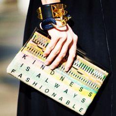 Kindess is Always Fashionable.! #need