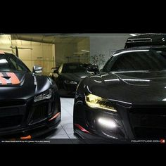 Many R8s  Ohhhhh Im in Paradise!!!!