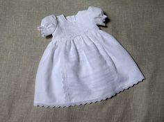 Linge de bébé fille baptême robe fille occasion par Graccia sur Etsy