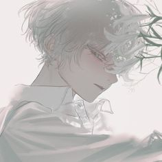 Fan Art Anime, Anime Art Girl, Manga Art, Manga Anime, Anime Boys, Cute Anime Guys, Aesthetic Art, Aesthetic Anime, Aesthetic Drawing