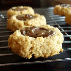 Alisa Cooks – Recipes from the Go Dairy Free kitchen » Peanut Butter & Chocolate Thumbprint Macaroons