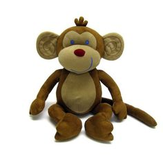 NoJo Jungle Babies Milton The Monkey - Stuffed Animal by Crown Crafts, http://www.amazon.com/dp/B0017NNSRQ/ref=cm_sw_r_pi_dp_fObtqb18EEEH4