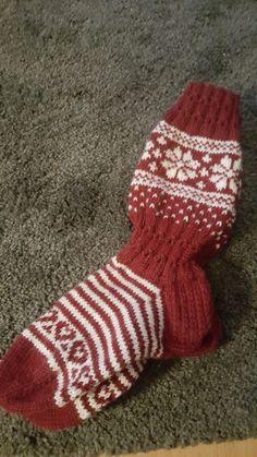 Talvinen sukka