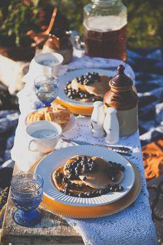 Blueberry Pancake Picnic