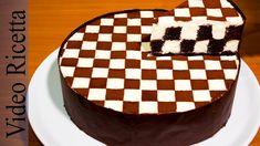 Torta a Scacchi - Chess Cake (con biscotti Oreo) - Video Ricetta Food Cakes, Cupcake Cakes, Oreo Cake Recipes, Cheesecake Recipes, Chess Cake, Alphabet Cake, Chocolate Oreo Cake, Yummy Treats, Yummy Food