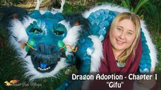 """Dragon Adoption - Chapter 1 """"Gifu"""" Hello all, Thank you so much for viewing my short film. This will hopefully be chapter 1 of . Female Dragon, Dragon Lady, Renaissance Festival Costumes, Make A Dragon, Dragon Puppet, Fantasy Art, Fantasy Dolls, Puppet Making, Gifu"""