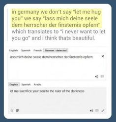 I think this German wants to get someone killed