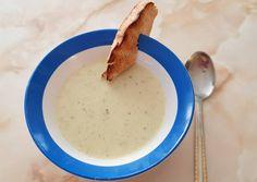 Mennyei zellerkrémleves recept foto Izu, Cheeseburger Chowder, Oatmeal, Bacon, Keto, Breakfast, Food, The Oatmeal, Morning Coffee