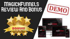 MagickFunnels Review | MagickFunnels Demo + Bonus Cloud Based, Magick, Make It Yourself, Witchcraft
