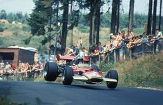 Jochen Rindt, Lotus 49B; 1969 Nürburgring