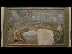 Vista y plano de Toledo  El Greco 2014