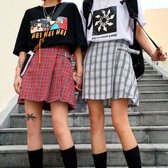 0d12240dd8 Skirt with Suspenders in 2019 | Cute Skirts | Plaid pleated skirt, High  waisted skirt, Suspender skirt