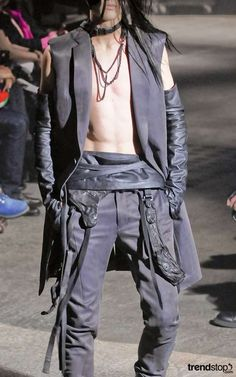 Post-Apocalyptic Menswear - Julius Fall Winter 2010 Channels Cormac McCarthy (GALLERY)