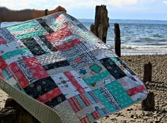 A Quilter's Table: Quarter-Cut Baby Quilt Tutorial