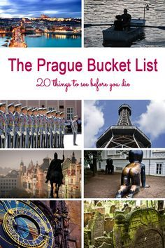 Whether you are visiting Prague for the first time, or you are a local, there are a few MUST SEE attractions you simply can't miss: http://www.guidilo.com/prague-bucket-list-20-things-to-do-before-you-die-or-leave