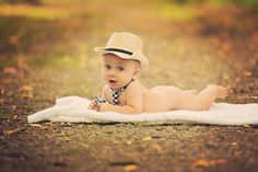 baby boy photography, cowboy hat, country, Lisa Karr Photography, Beloit Wisconsin, Find on Facebook,