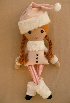 Custom Listing for Brandy Fabric Doll Rag Doll by rovingovine