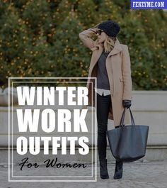 45 Cozy Winter Work Outfits for Women in 2015