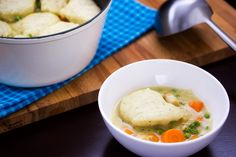 Chicken Stew with Dumplings: Easy and filling comfort food, packed with vegetables, tender chicken and yummy dumplings.