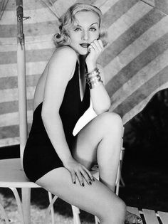 Carole Lombard .. many years before Marilyn, but with much more talent and range