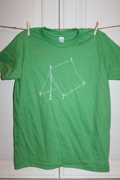 Children's ScreenPrinted Camping Tent T-Shirt by ThisLittlePiggyNWA, $22.00