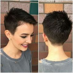 Pixie cuts are so versatile nowadays and long pixie cuts getting more and more popular. So here are the pics of 20 Longer Pixie Cuts We Love! Pixie cuts are. Cute Short Haircuts, Cute Hairstyles For Short Hair, Short Hair Cuts For Women, Curly Hair Styles, Haircut Short, Undercut Short Hair, Pixie Haircut For Thick Hair, Cut Hairstyles, School Hairstyles